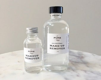 Makeup Remover + Hydrating Toner : natural skin conditioner / all skin types / acne control / organic / non toxic / vegan / no chemicals