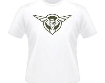 Captain America SSR Wing Logo Steve Rogers T-Shirt