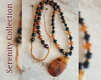 Agate Pendant Collection