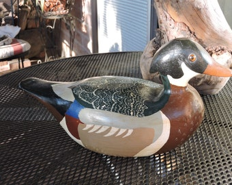 Wood Duck Decoy by Art Smith, 1986