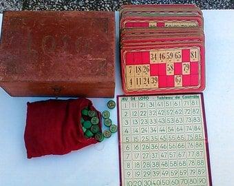 Former Lotto game box