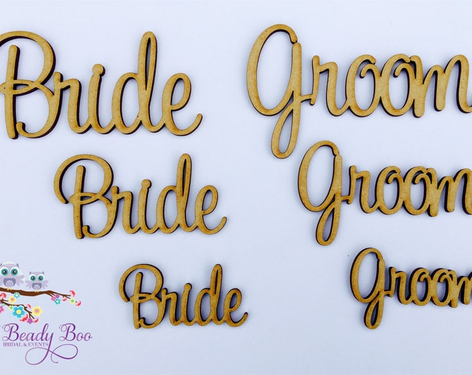 Featured listing image: Single | Personalised Wedding Place Cards | Guest Names |  Laser Cut Names | Custom Wedding Signs | Wooden Place Names | Arcylic Place Names