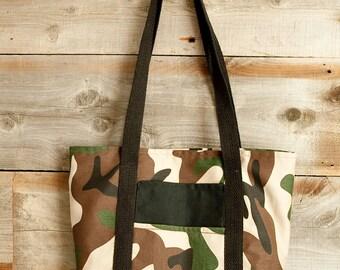 Easy Camo Tote Bag