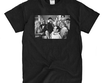 One Flew Over The Cuckoo's Nest - Cast Photo - Black T-shirt