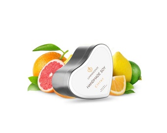 Citrus-  Soy Wax Candle