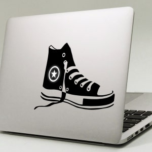 converse shoes black and white font alphabet calligraphy sticker