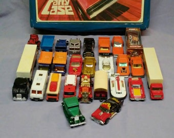 Vintage Collection of Twenty-Six Matchbox and Hot Wheels Vehicles