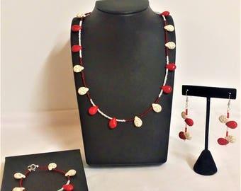 Tribal Inspiration| Handmade Jewelry Set