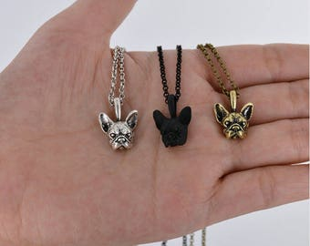 French Bulldog Frenchie Necklace Jewellery