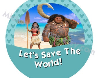 Let's Save The World! – Moana