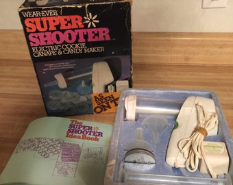 Wear - Ever Super Shooter electronic cookie press / canapé , candy maker