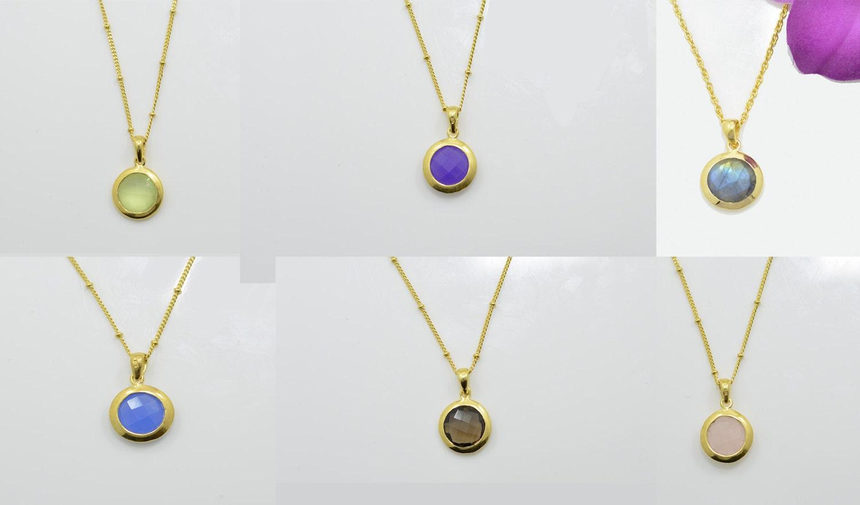 Gold blue chalcedony necklace blue chalcedony gold necklace gold gold blue chalcedony necklace blue chalcedony gold necklace gold blue stone necklaces blue aloadofball Choice Image