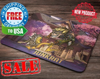 Junkrat Overwatch Mouse Pad overwatch mousepad home decor overwatch accessories overwatch champion
