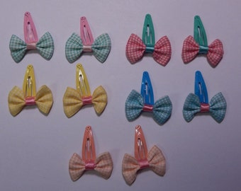 Mini Baby Bow Barrettes