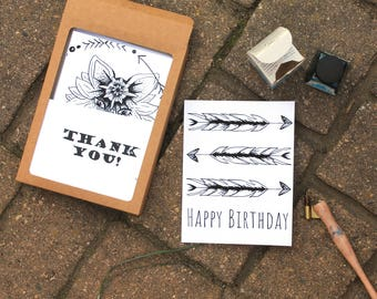 Native Tribal Greeting Card Set -