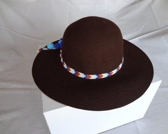 Handmade Fedoras , Wool Fedoras , Hat