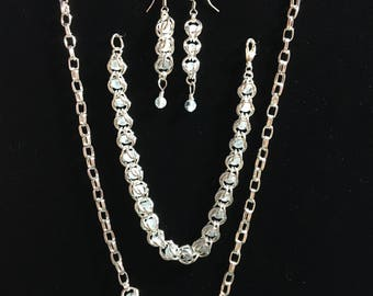 Silver River Jewelry Set