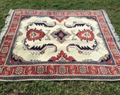 Hand-Knotted Persian Rug,...