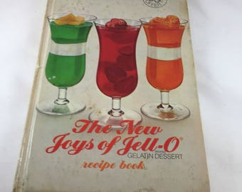 Joys of Jello Cookbook - Vintage Cook Book - 1970s Cook Book - Jello Dessert Recipes - Vintage Kitchen - 1970s Kitchen - Gelatin Cookbook