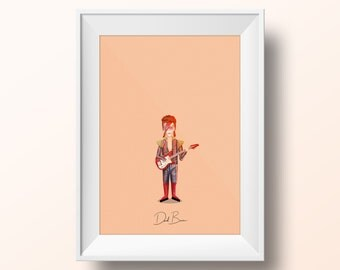 David Bowie - Starman Poster