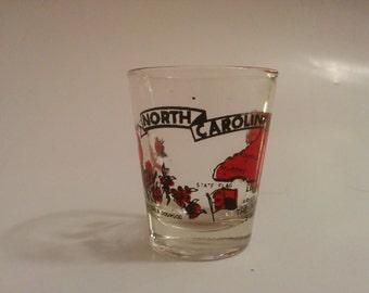Vintage North Carolina State Shot Glass