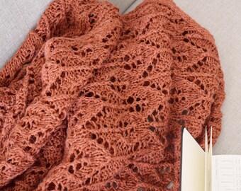 Terracota Leaf Blanket