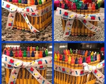 Crayon Vase/Teacher Appreciation Gift