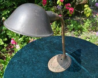 Art Deco Brass Supreme Adjustable Desk Lamp