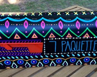 Personalized Mailbox - Hand Painted, Intricate, Fun Details