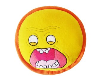 Rick and Morty Rising Sun Plush Pillow
