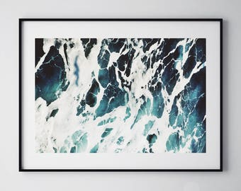 Water Print, Ocean, Ocean Print, Sea Print, Ocean Wall Art, Ocean Photography, Ocean Waves Print, Ocean Water Print, Ocean Prints, 176
