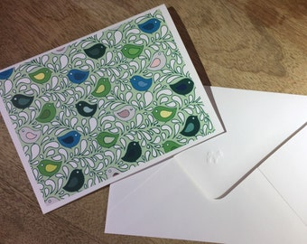Birds in Song Notecards