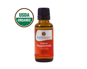 Organic Peppermint Essential Oil   100% Pure Therapeutic Grade, USDA Certified, Non GMO