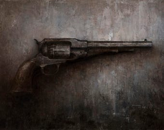 Civil War Gun - Fine Art Print
