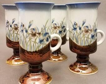 Vintage Otagiri Ceramic Irish Coffee Mug, Set of four (4), Vintage Otagiri, Coffee Mug, Great Find
