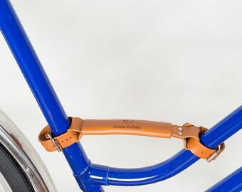 SALE! 15%  Bike leather Handle, bicycle handle, bicycle handle, leather handle, handle