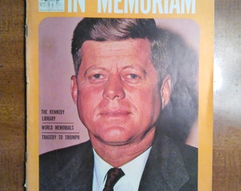 1964 In Memoriam 365 Days Later John F. Kennedy