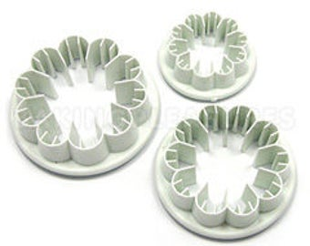 3 Piece Carnation Cutter Set