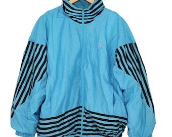 Vintage 80s 90s PUMA Color Block Windbreaker Jacket