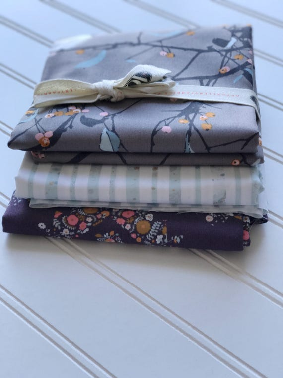Blithe Fabric Bundle - 3 yards - Fabric by the yard - Art Gallery Fabrics - Blithe Fabric - Katarina Roccella