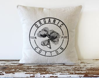 Organic Cotton (Pillow Cover Only)