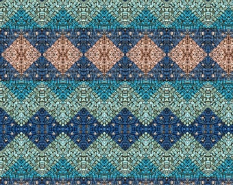 Mosaic art, mosaic, textures, decorations, geometrical shapes, light blue, Brown, design, furniture, photography, printing, FineArt