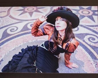 "Photography alternative Steampunk ""Steam Lady"" - Format A4 20x30cms - Namidaël photographs"