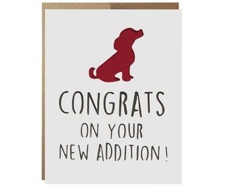 New Addition Congratulations Card