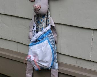 Hysterical Lady MooMoo Plastic Bag Holder