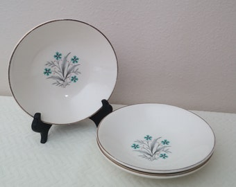 Vintage Floral Replacement Dishes, Vintage Berry Bowls, Vintage Saucer, Vintage Dishes