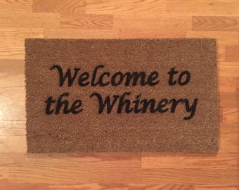 Welcome to the Whinery