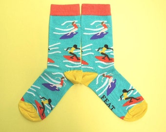 Surfing socks