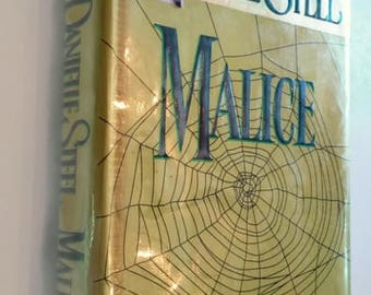 Malice by Danielle Steel  Hardcover  1st Edition   Suspense/Thriller