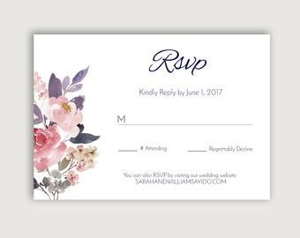 No. 3   Printable 5 x 3.5 RSVP Card
